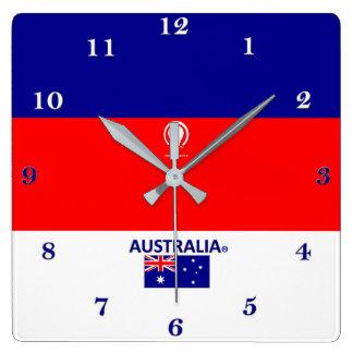 Horloge murale de concepteur de l'Australie