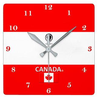 Horloge murale de concepteur du Canada