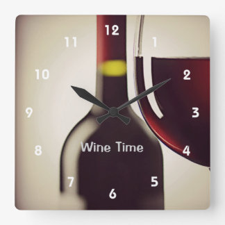 Horloge murale de conception de bouteille et en