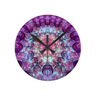 Horloge murale de encerclement concentrique de la