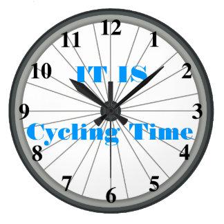 Horloge murale de roue de bicyclette
