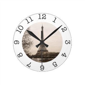 Horloge murale de Tour Eiffel