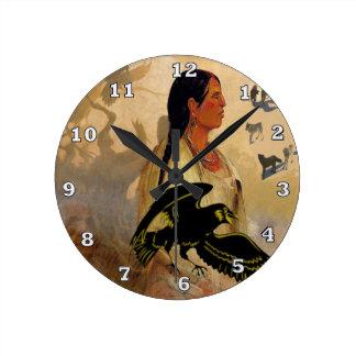 Raven Maven Wall Clock