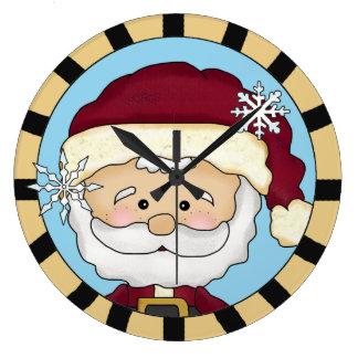 Horloge murale mignonne de Père Noël