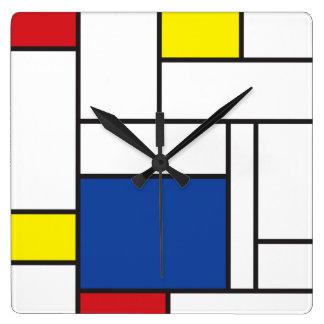 Horloge murale minimaliste d'art moderne de