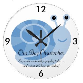 Horloge murale personnalisée de SammySnail