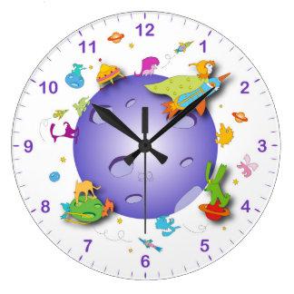 horloge murale pour la pièce d'enfants