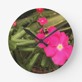 Horloge Ronde abeille