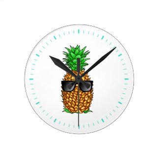 Horloge Ronde Ananas frais