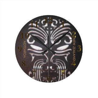 Horloge Ronde aotearoa de la Nouvelle Zélande