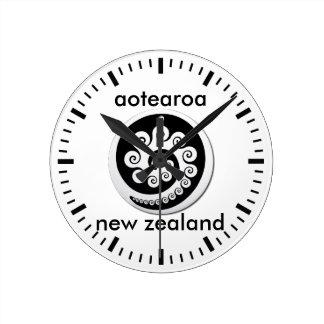 Horloge Ronde aotearoa Nouvelle Zélande 12