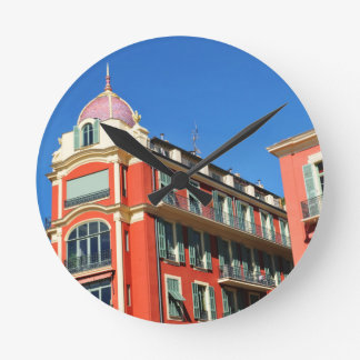 Horloge Ronde Architecture à Nice, France