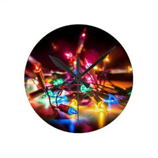 Horloge Ronde ayez un Joyeux Noël