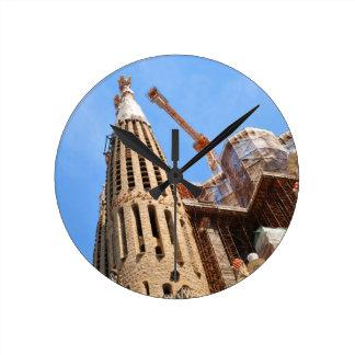 Horloge Ronde Barcelone