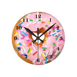 Horloge Ronde Beignet