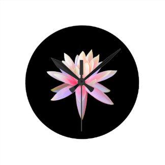 Horloge Ronde Bel art de Lotus