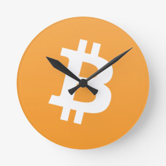 Horloge Ronde Bitcoin