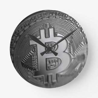 Horloge Ronde Bitcoin 16