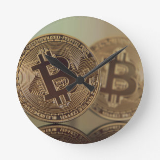 Horloge Ronde Bitcoin 17