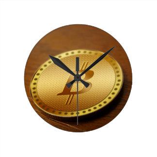 Horloge Ronde Bitcoin 2