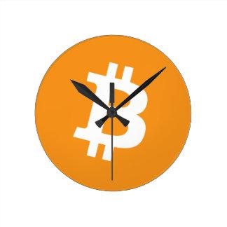 Horloge Ronde Bitcoin - Cryptocurrency Alliance