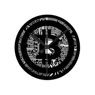 Horloge Ronde Bitcoin - l'Internet de l'argent