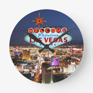 Horloge Ronde Cadeaux de Las Vegas