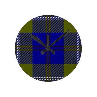 Horloge Ronde Clan Oliphant de tartan