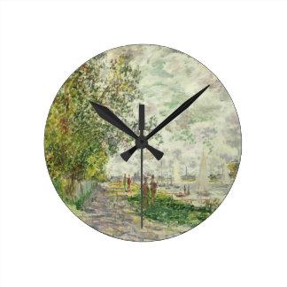 Horloge Ronde Claude Monet | la rive chez Gennevilliers