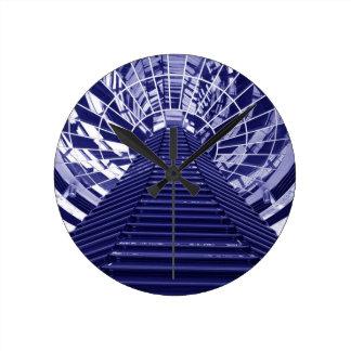 Horloge Ronde Conception abstraite d'architecture