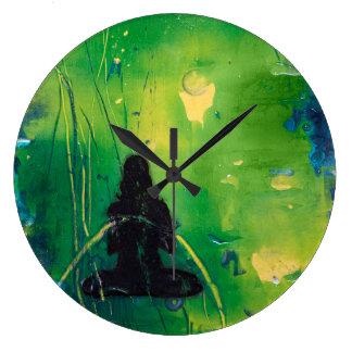 Grande Horloge Ronde Horloge ronde de Namaste