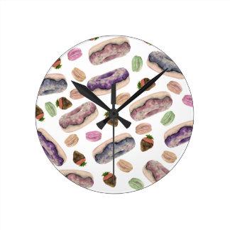 Horloge Ronde Donut
