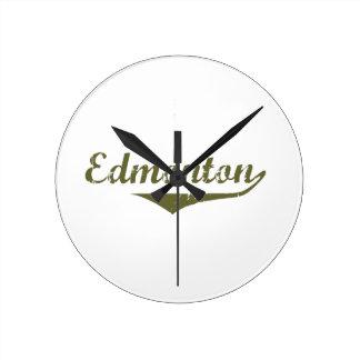 Horloge Ronde Edmonton