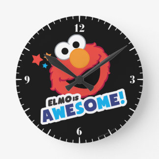 Horloge Ronde Elmo impressionnant