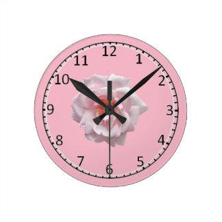 Horloge Ronde Emoji rose