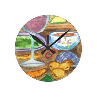 Horloge Ronde Fabrication de l'horloge murale de Gulash