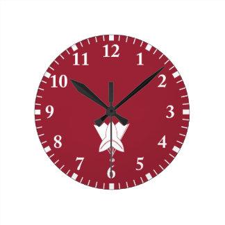 Horloge Ronde Fan pour la famille d'Asano