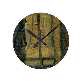 Horloge Ronde Fenêtre de Van Gogh dans le restaurant de