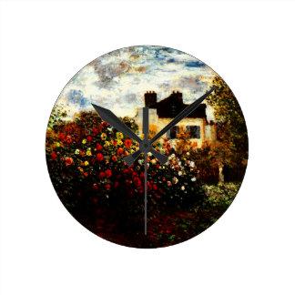 Horloge Ronde Jardin de Claude Monet-Monet à Argenteuil