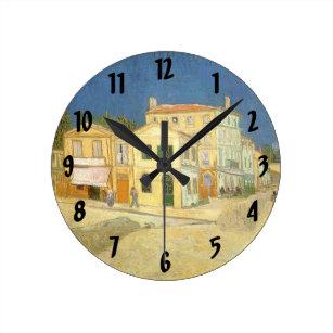 Horloge Ronde La Chambre Jaune Par Vincent Van Gogh