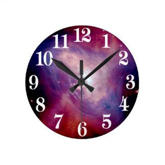 Horloge Ronde La NASA de nébuleuse de rayon X de crabe de