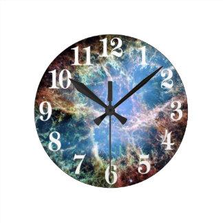Horloge Ronde La NASA de supernova de nébuleuse de crabe