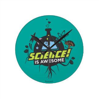 Horloge Ronde La Science est impressionnante