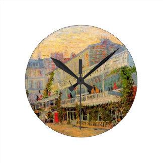Horloge Ronde La Sirene, Asnieres, beaux-arts de restaurant de