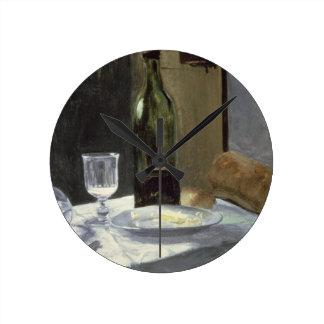 Horloge Ronde La vie de Claude Monet | toujours avec des