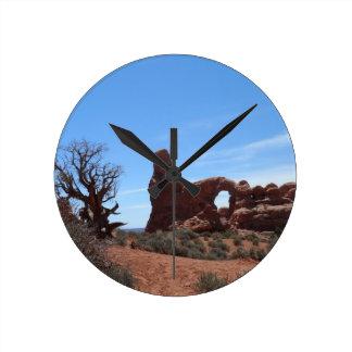 Horloge Ronde La voûte de tourelle arque le parc national