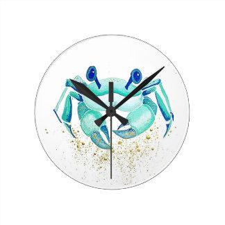 Horloge Ronde Le crabe de Neptune