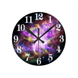 Horloge Ronde Le rayon X de Chandra dans la nébuleuse de crabe