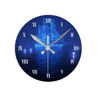 Horloge Ronde L'horloge murale de Néerlandais de vol