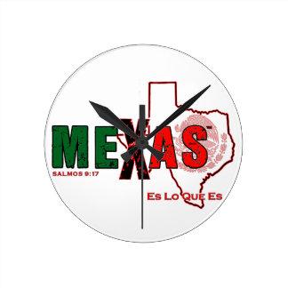 HORLOGE RONDE MEXAS